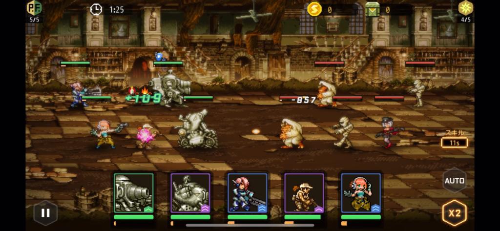 『Metal Slug : Commander』評価②